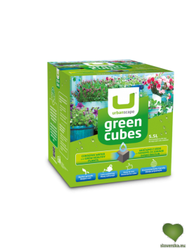 Urbanscape: Zelene kocke