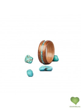 MOORG WOOD RINGS: INLAY COLLECTION